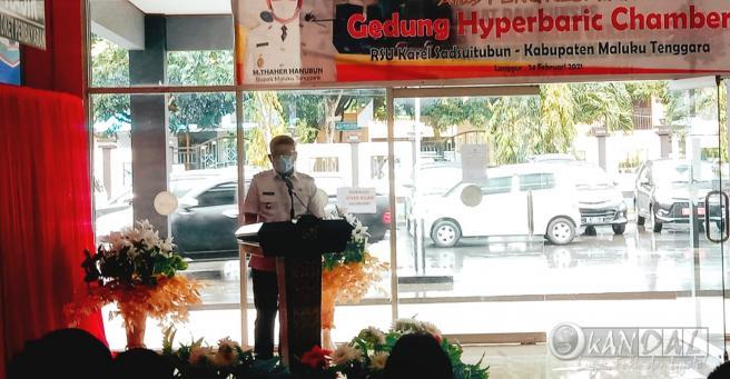 RSUD Malra Masuk Dalam Tiga Rumah Sakit Penyediaan Alkes Hyperbaric Chamber di Provinsi Maluku