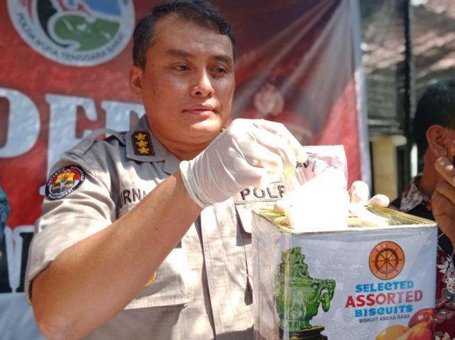 Polda NTB Amankan Sabu Setengah Kilogram dari Thailand