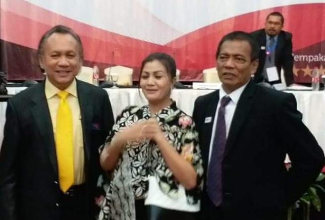 Dua Menko Polhukam Kabinet Jokowi Beri Pembekalan Munas IPJI.