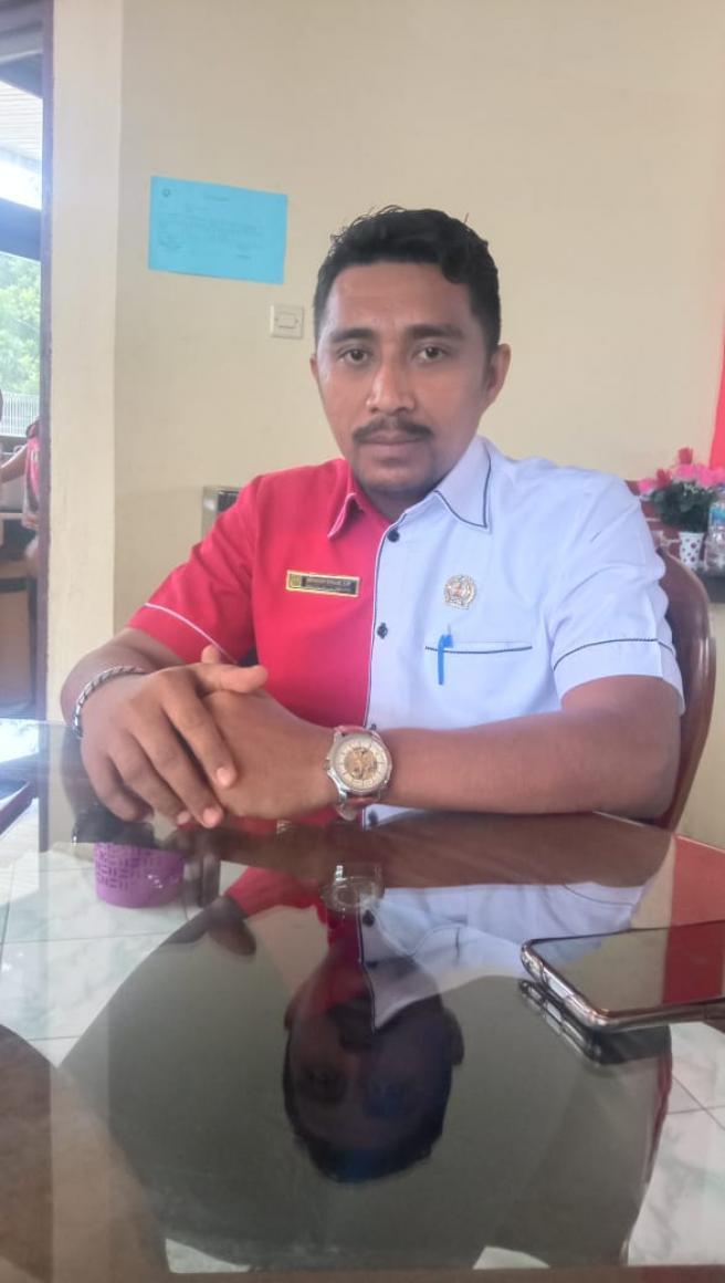 Sekertaris Komisi ll DPRD Kab Malra Apresiasi Kadis Pertanian dan Perindag Naker Kab Malra.