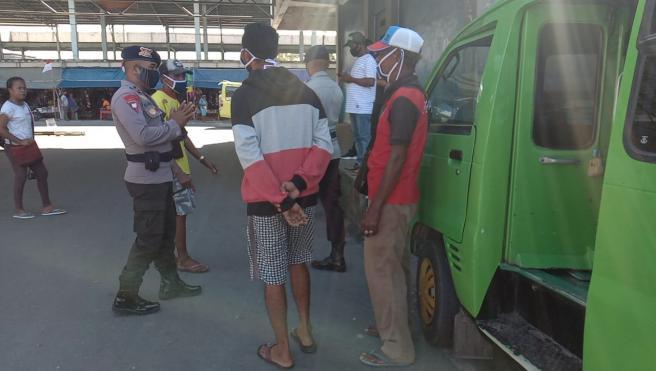 Batalyon C Pelopor Tingkatkan Sosialisasi Cegah Corona