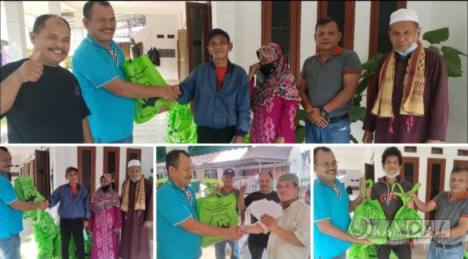 PARPATENG Menyalurkan Paket Lebaran Kepada Warga di Jabodetabek dan Banten.