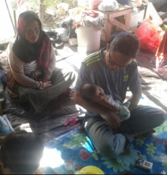 Bayi Arysila Lolos dari Reruntuhan Dinding Batako