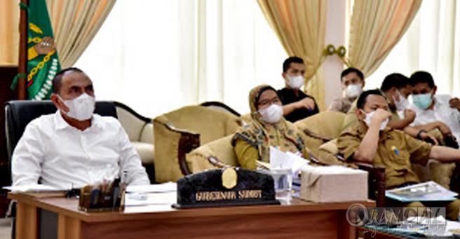 Gubernur Sumut Usulkan Perbaikan 447 Km Jalan Provinsi